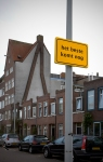 THE BEST IS YET TO COME, 2011, traffic signs, 60x40 cm. (series of 7)